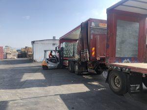 הובלת סחורה על משטחים בחיפה